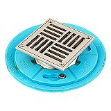 TBD363 Square Decorative Strainer Floor and Shower Drain.